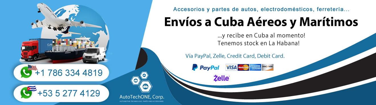 Envíos a Cuba Aéreos y Marítimos
